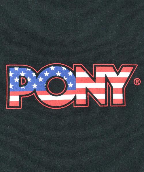 PONY/ポニー FLAG PONY S/S