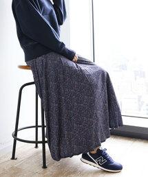 SEVENDAYS=SUNDAY(セブンデイズサンデイ)のアソート柄プリーツロングスカート ★〇(スカート)