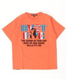 VOTE pt Tシャツ【L】オレンジ