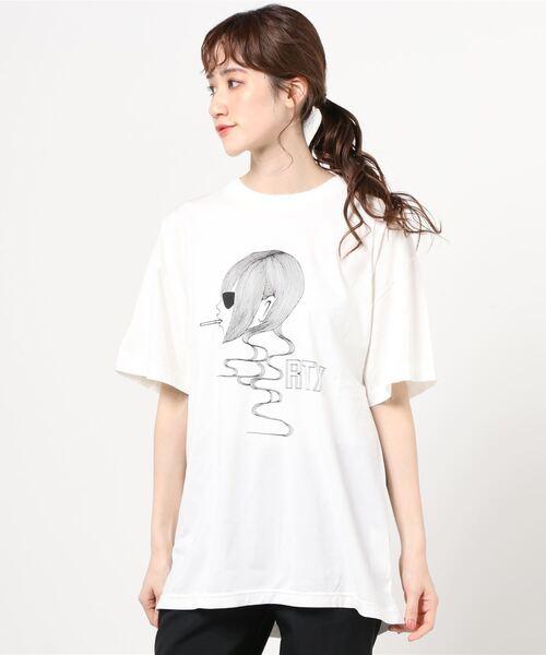 ROYAL TRUX/RTX オーバーサイズTシャツ