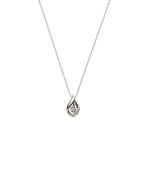 【人気急上昇】 K18WG ダイヤモンドドロップネックレス/VENDOME AOYAMA(ヴァンドーム青山), おさいほう屋 7bbdb85b