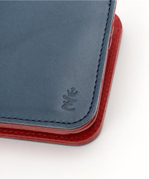 [ZARIO-grandee-/ザリオ-グランデ-] 二つ折り財布 メンズ 栃木レザー