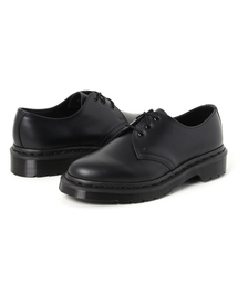 Dr.Martens(ドクターマーチン)のDr.Martens  ドクターマーチン 1461 MONO 3EYE モノ スリーアイレット 14345001 BLACK SMOOTH(ブーツ)