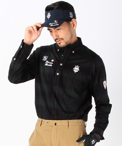 【サイズ交換OK】 BEAMS/ GOLF MEN,ビームス PURPLE LABEL BEAMS/ ブラックウォッチ柄タラッティープルオーバー ロングスリーブ(ポロシャツ)|BEAMS GOLF(ビームスゴルフ)のファッション通販, ゴルフハウス はかた家:365ec0dc --- calligraphyindia.com
