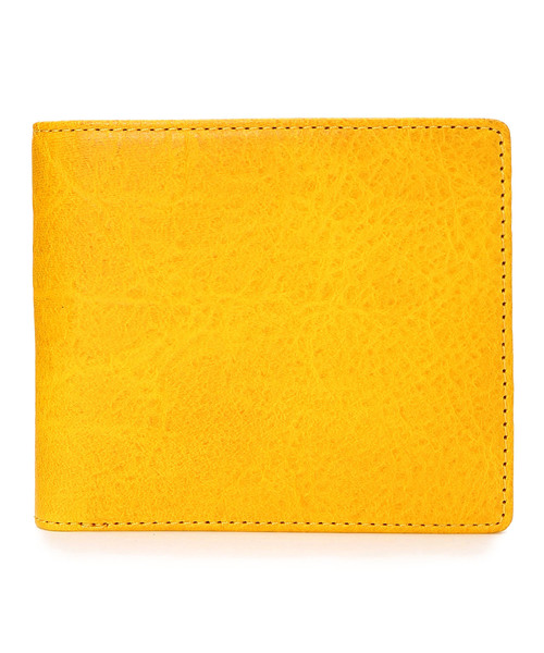 <ZONALe / FLAVIO> イタリアン ハンドペイントレザー / 二つ折財布