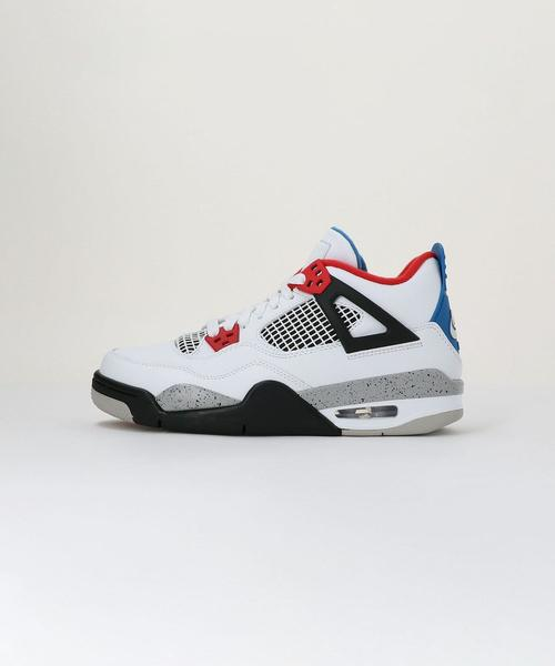NIKE(ナイキ) AIR JORDAN 4 RETRO BG WHAT THE■■■