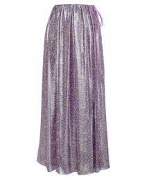 Drawer ラメプリントギャザースカート
