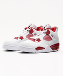 JORDAN BRAND | JORDAN AIR JORDAN 4 RETRO(308497-106)WHITE/BLACK-GYM RED【ジョーダン エア ジョーダン 4 レトロ】 (球鞋)