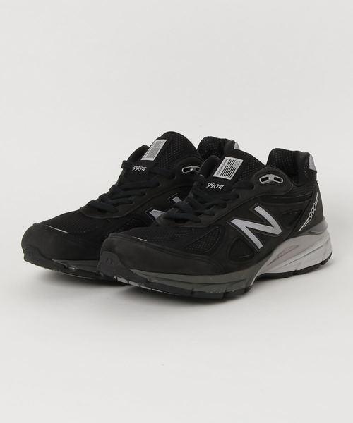 経典 【セール セール,SALE,New】New Balance M990IB4 (BLACK/SILVER)(スニーカー)|New Balance Balance(ニューバランス)のファッション通販, おきなわけん:47bbe8b3 --- blog.buypower.ng