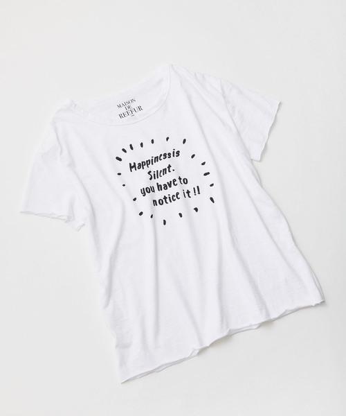 フォーチュン Tシャツ HAPPINESS