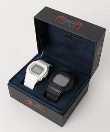 Gショック × ベビーG ペアモデル G-SHOCK × BABY-G Pair Model / 電波ソーラー GW-M5610-1BJF × BGD-5000-7JF(腕時計)