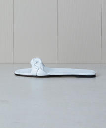 <ALUMNAE>BRAIDED SLIDE SANDALS/サンダル.