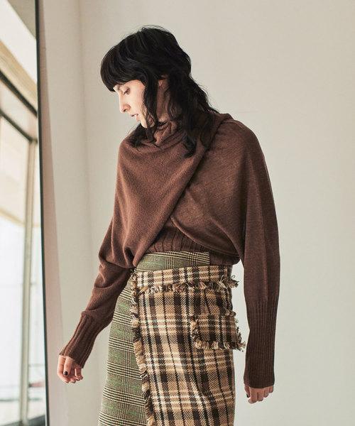 低価格で大人気の 【AULA】3パーツ レイヤードニット(ニット/セーター)|AULA(アウラ)のファッション通販, uminecco(ウミネッコ):4ed8416f --- rise-of-the-knights.de