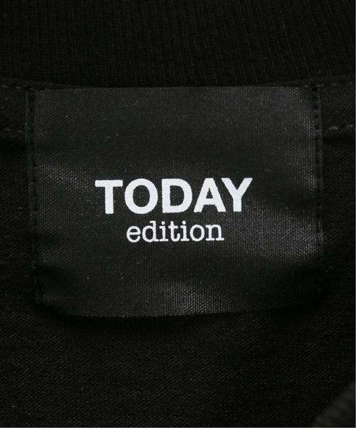 TODAY edition(トゥデイエディション)の「【TODAY edition / トゥデイエディション】 ACOUSTICS LS TEE(Tシャツ/カットソー)」|詳細画像