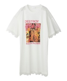 DESTROY ALL MONSTERS/PANDORA'S BOX ワンピースホワイト