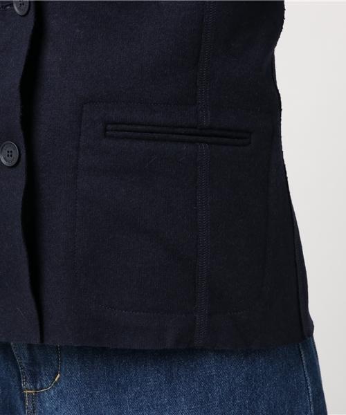 スタンドカラープレミアムウールジャケット