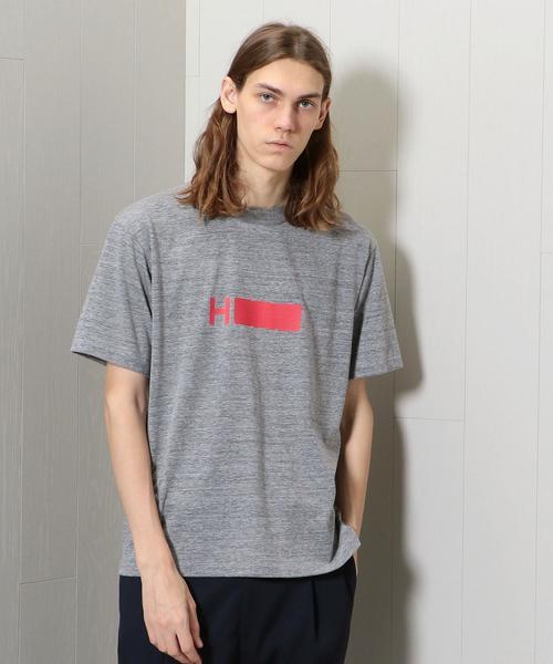 <H>LOGO CREW NECK SHORT SLEEVE T-SHIRT/Tシャツ