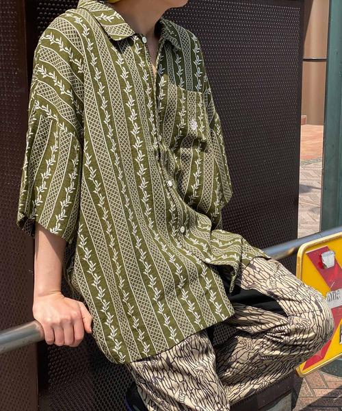 高い品質 Leaf Big Big Shirt/ リーフビッグシャツ(シャツ/ブラウス)/|ALDIES(アールディーズ)のファッション通販, 毛糸専門店サトー:6580d506 --- steuergraefe.de