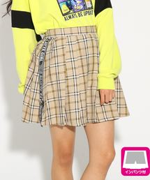 PINK-latte(ピンク ラテ)の★ニコラ掲載★サイドテーププリーツ スカート(スカート)