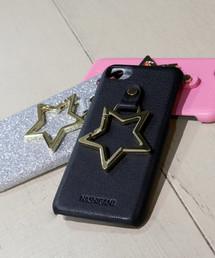 【 Hashibami / ハシバミ 】 # iPhone 8/7/6/6s/SE(第2世代) カバー リング付きケースブラック