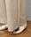 DOUX ARCHIVES(ドゥアルシーヴ)の「綿サッカーストレートパンツ(パンツ)」|詳細画像