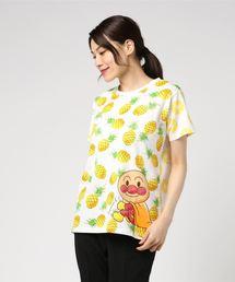 ANPANMAN KIDS COLLECTION(アンパンマンキッズコレクション)の【アンパンマン】フルーツTシャツ大人(Tシャツ/カットソー)