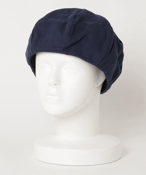 ∴HERRINBONE BERET / ヘリンボーン ベレー帽