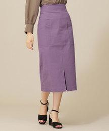 nano・universe(ナノユニバース)の【InRed 10月号掲載】CRストレッチIラインスカート(スカート)