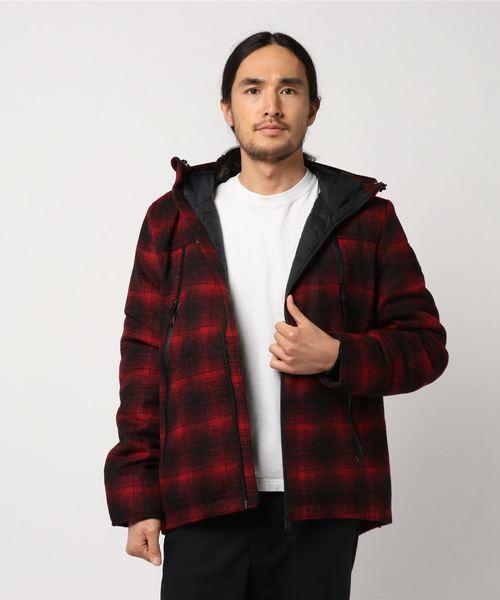 ファッションなデザイン チェックジャケット, アサバチョウ 8f38c567