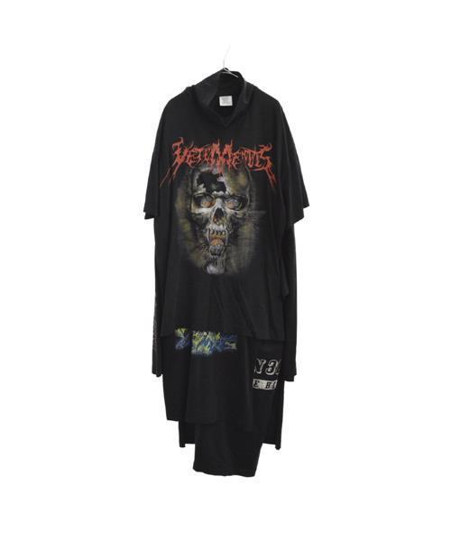 今季一番 【ブランド古着】再構築レイヤドスカルプリントワンピース長袖カットソー Tシャツ(Tシャツ/カットソー)|VETEMENTS(ヴェトモン)のファッション通販 - USED, シューズボックス:31a009f3 --- steuergraefe.de