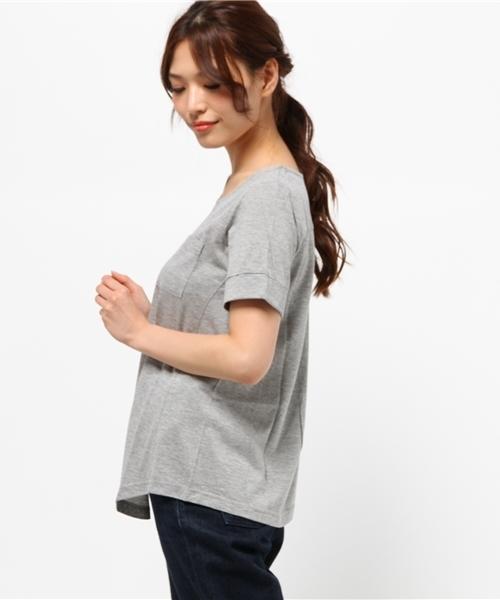 ドキドキしなくて大丈夫!1枚でも手抜きに見えない 立体設計汗じみ対策Tシャツ
