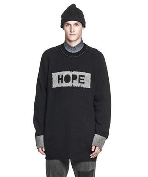 55%以上節約 【数量限定 OF】インポート ラムウールメンズロゴBIGセーター Big Sweater[HOPE Big/ホープ](ニット/セーター)|HOPE(ホープ)のファッション通販, オオクワムラ:0918ed3a --- kredo24.ru