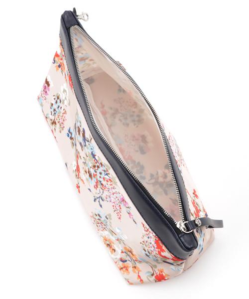 【GIANNI CHIARINI/ジャンニ キャリーニ】★Slim Simple Muji tote bag・花柄ポーチ付き