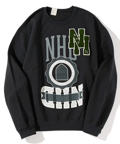 N.HOOLYWOOD 2018 SPRING & SUMMER COLLECTION LINE SWEAT SHIRTS