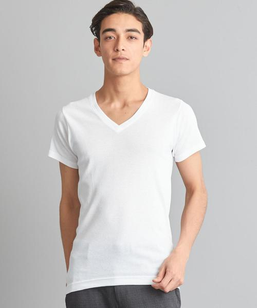 【WORK TRIP OUTFITS】[ ヘインズ ] Hanes ★WTO Vネック Tシャツ