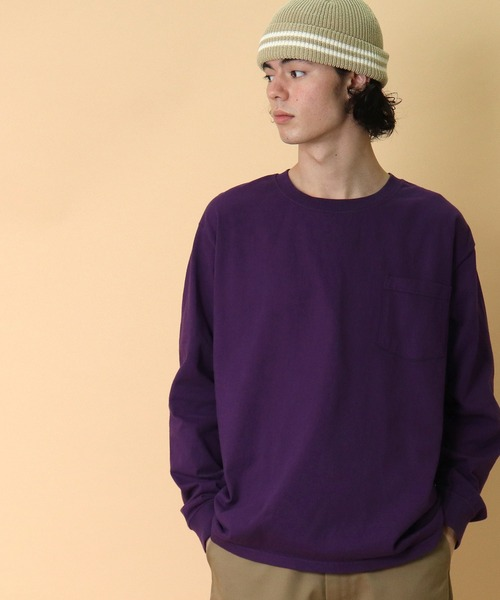 【 Goodwear / グッドウェア 】longsleeve T-shirts ロングスリーブTシャツ 長袖Tシャツ ロンT ポケットTシャツ