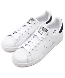adidas(アディダス)のadidas アディダス STAN SMITH スタンスミス M20325 R.WHITE/R.WHITE/NEW.NAVY(ホワイト×ネイビー)         (スニーカー)