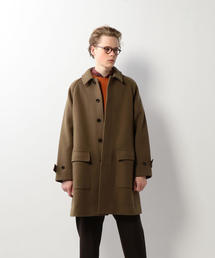 <Steven Alan> MELTON PATCH BAL COLLAR COAT/コート