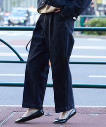 Lee(リー)の【WEB限定】【Lee(リー)】ルーミーテーパードパンツ(デニムパンツ)