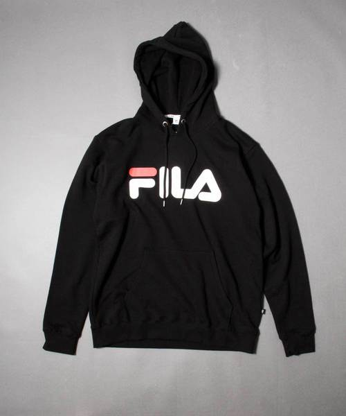 【FILA heritage】フロントロゴプルオーバーパーカー