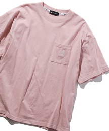 KANGOL(カンゴール)の【KANGOL / カンゴール】ワンポイントロゴ刺繍デザイン Tシャツ(Tシャツ/カットソー)