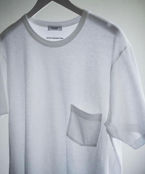 BY ナノフレッシュ 1ポケット Tシャツ/抗菌・防臭機能搭載