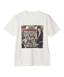 MESSER CHUPS/THE VOICE OF ZOMBIERELLA Tシャツホワイト