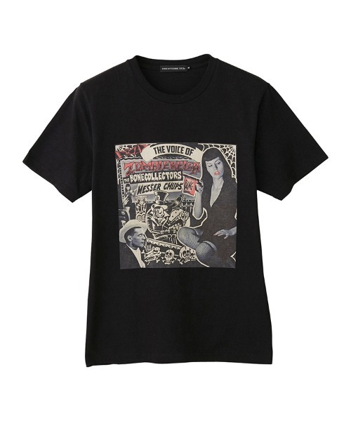 MESSER CHUPS/THE VOICE OF ZOMBIERELLA Tシャツ