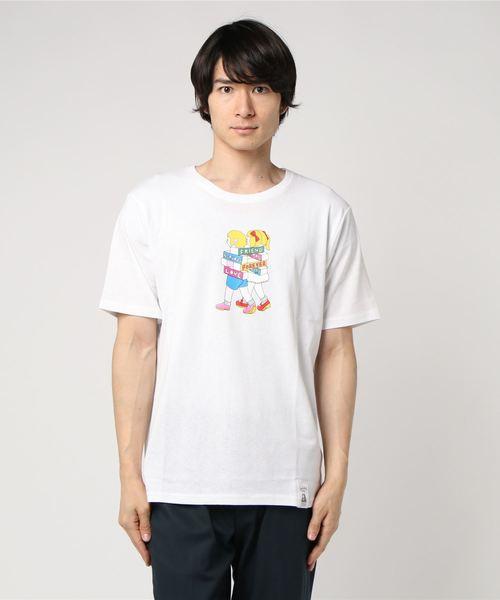 WEGO/YAK PAK×ヤナギダマサミ Tシャツ