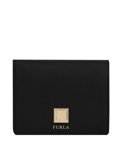 fcebd55d572c FURLA(フルラ)の「ミミ バイフォールド ウォレット(財布)」|ブラック