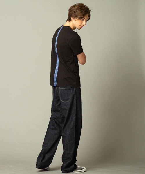 プロゲーマー けんき neutoronica (ニュートロニカ)×ADMIX Japanコラボ企画 バック センター バイカラー 半袖 Tシャツ
