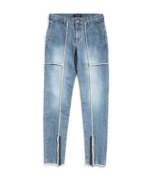 【70%OFF】 JUX4501(デニムパンツ)|JohnUNDERCOVER(ジョンアンダーカバー)のファッション通販, ヤマトタカダシ:5d45806c --- svarogday.com