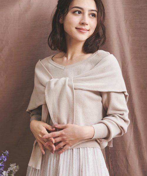 今季ブランド レイヤードニット(ニット/セーター)|Noela(ノエラ)のファッション通販, みどりの時間:141cf911 --- 888tattoo.eu.org