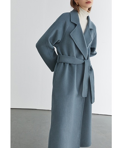 【Fano Studios】【2021AW】River tailored belted long coat FD20D013